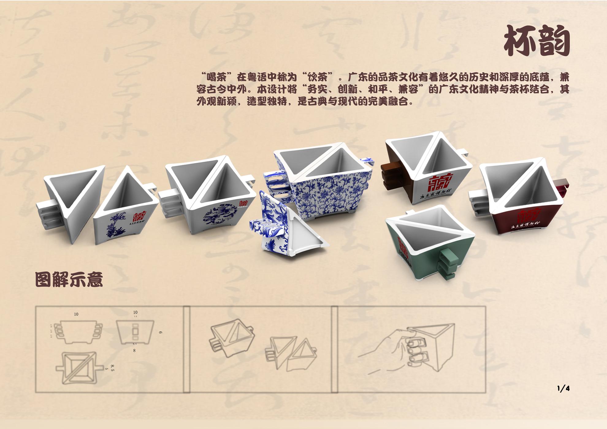 首屆廣東省博物館文化產品創意設計大賽入圍設計作品公示