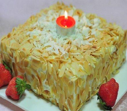 维罗娜欧式方形蛋糕