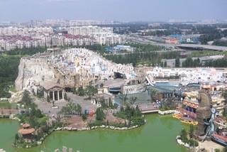 惊声尖笑——北京欢乐谷主题游