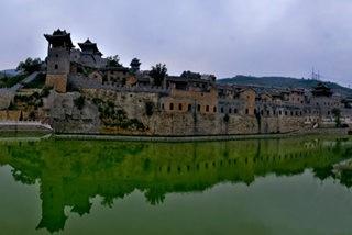 湘峪古堡 越过岁月去相遇 沁河岸边烟雨无声