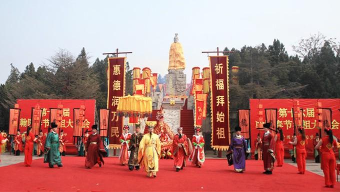 中原民俗 正月必去的翰园祭祖庙会
