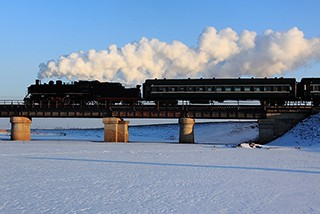 再见蒸汽机车 再见工业时代 铁岭调兵山铁路怀旧