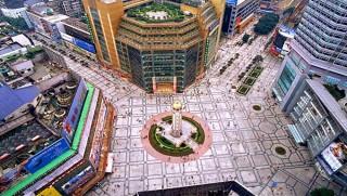 重庆最繁华的地方 解放碑一日游