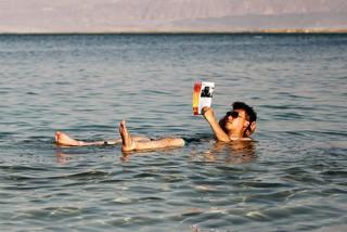 源自-417米的爱恋 以色列死海1日游