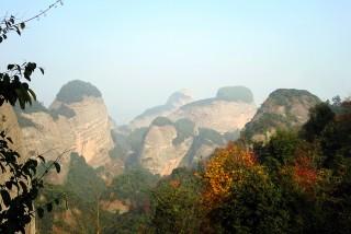 走进新宁崀山 感受奇特的丹霞地貌