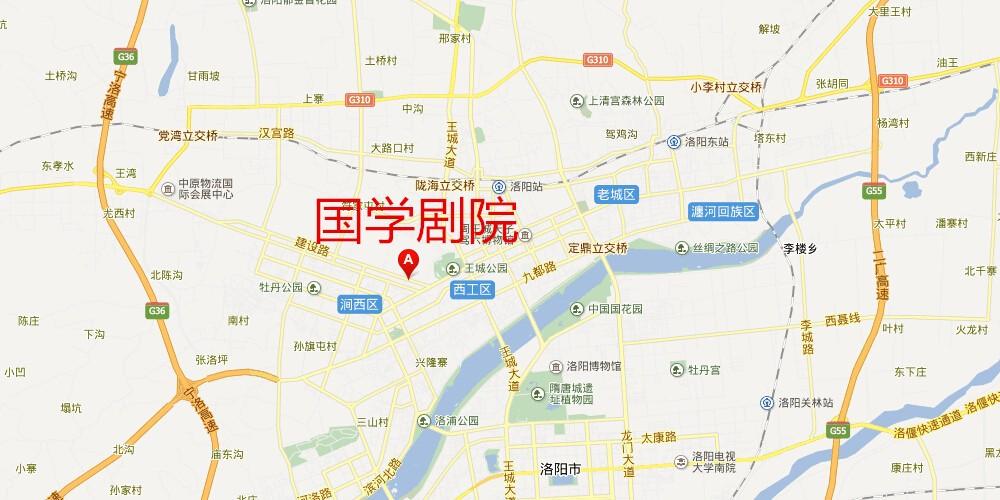 青岛市北区长春路地图