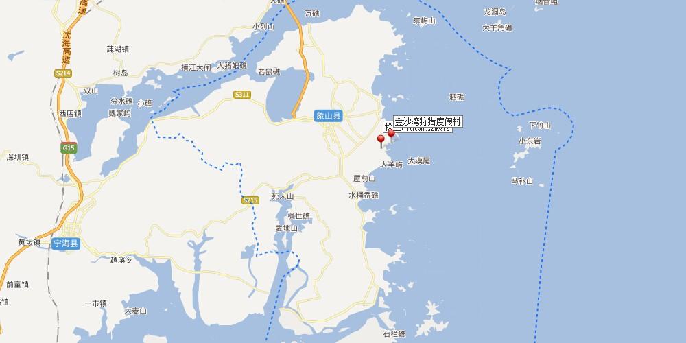 其地理位置北临象山港,与鄞州区,奉化市隔港相望;东北遥对舟山市普陀