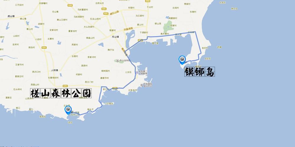 省威海荣成石岛地图