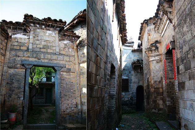 和平古镇全国罕见的城堡式大村镇