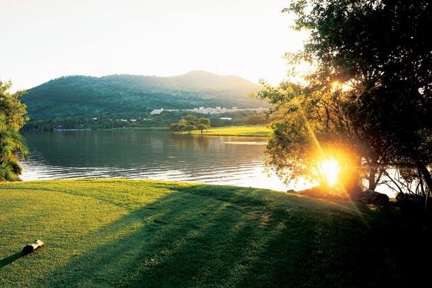 南非比罗陀尼亚总统府 风景图片