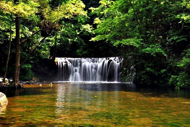 壁纸 风景 旅游 瀑布 山水 桌面 630_420
