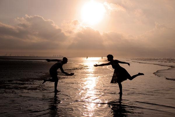 海边的青春光影 防城港白浪滩攻略