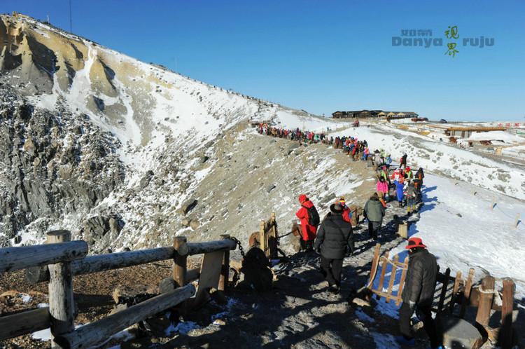 深冬里来东北看雪感受长白山冰雪视界_长白山手v冰雪师攻略转生ro图片