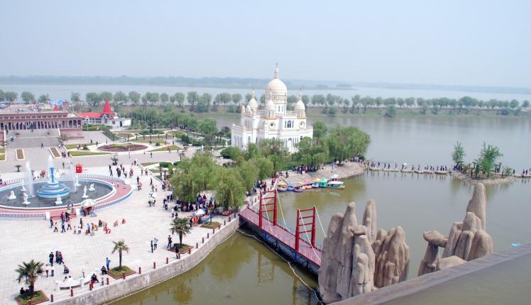 亚洲 中国 安徽 阜阳  少时去过八里河的人如今再到过那里都会感慨