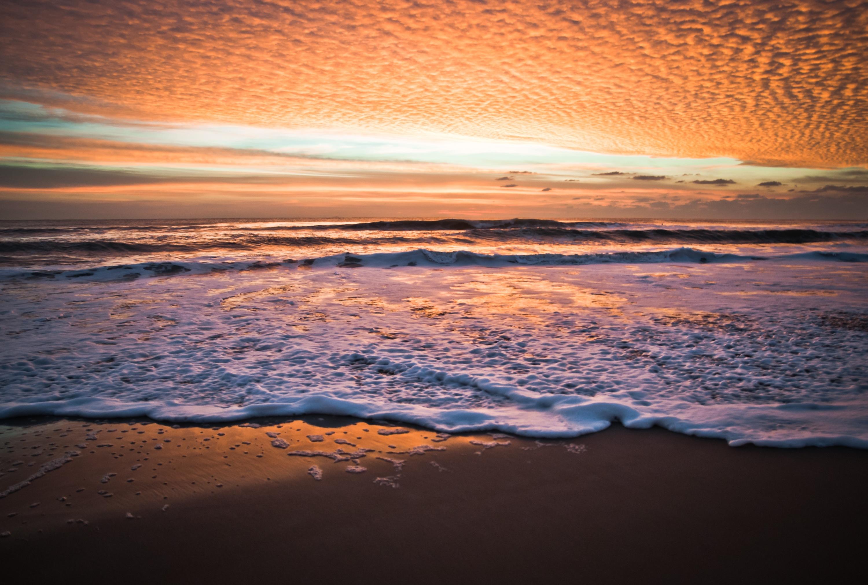 图注:海滩落日  来源:美国首都地区旅游局