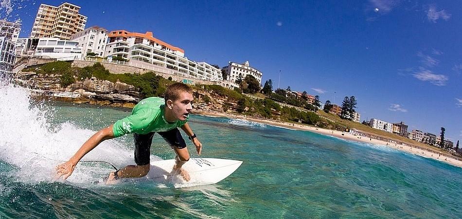 冲浪 来源:新南威尔士州旅游局
