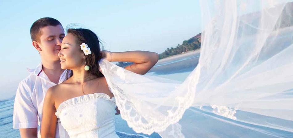 塞班岛蜜月婚纱