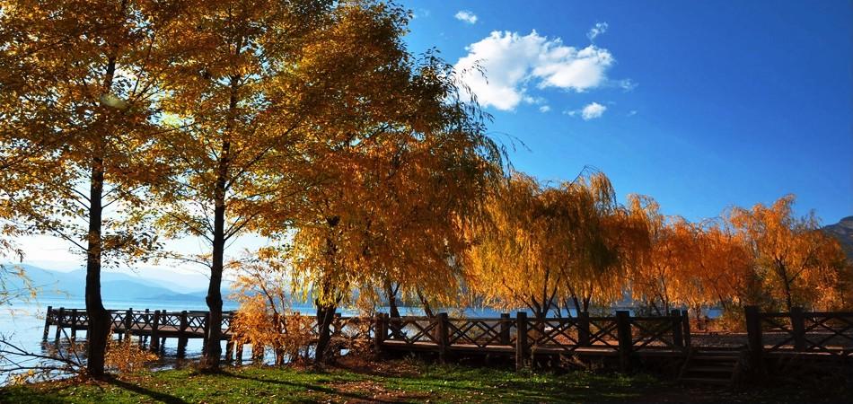 纯美仙境丽江泸沽湖 净化心灵之旅