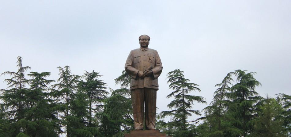 毛主席铜像
