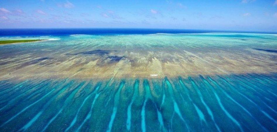 马里亚纳群岛礁盘面积