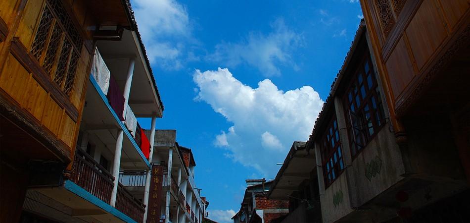 中国道教发源地修身养性群山环抱上清古镇一日