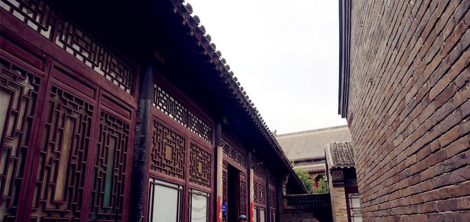 石家大院挂年画庭院静看旧时光河北达人玩转津城 天津攻...