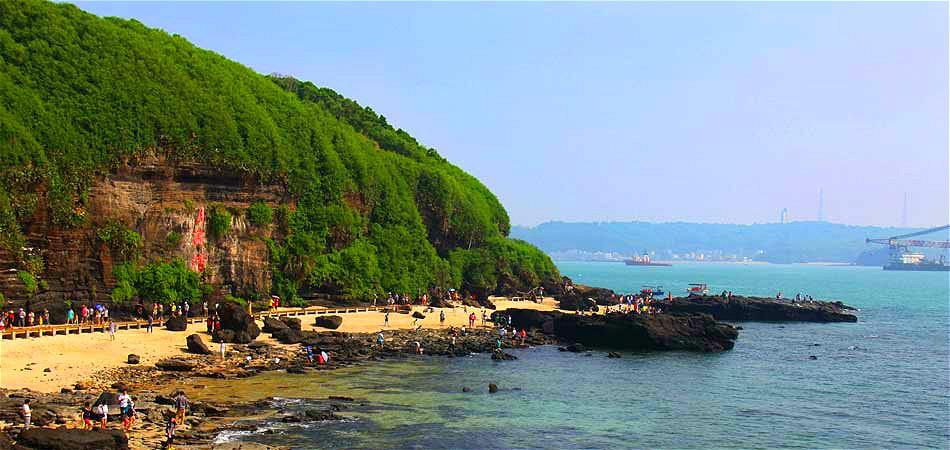 去北海寻浪漫 在涠洲岛海枯石烂