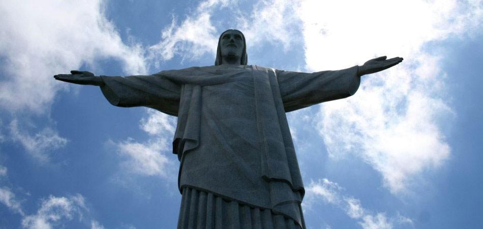 耶稣山的耶稣像