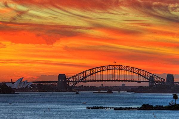 悉尼港 世界十大海港美景之一
