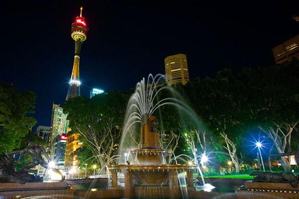 悉尼塔 南半球最高的参观平台