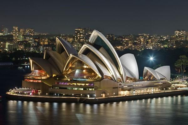 悉尼歌剧院 澳大利亚的标志