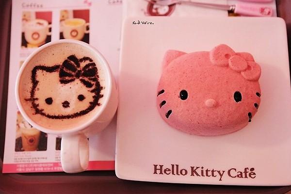 粉红Hello Kitty 咖啡屋
