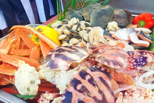 露天海鲜盛宴
