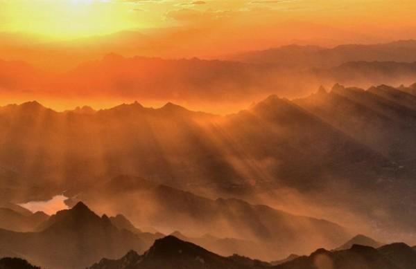 雾灵山之美