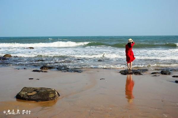 海边的美人