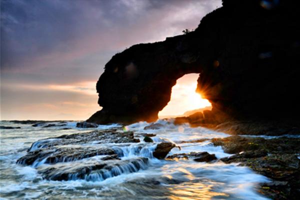 辽宁省大连市金石滩是国家级风景名胜区