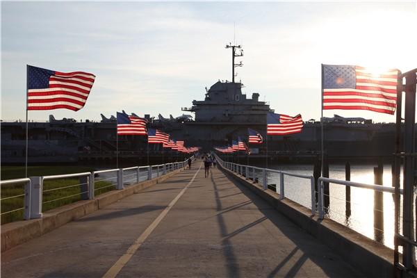 爱国者地海军海事博物馆(Patriots Point Naval & Maritime Museum)