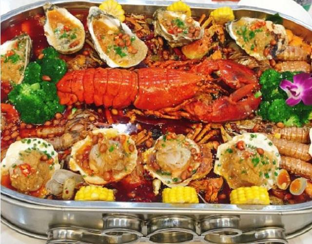 纵享霸气海鲜盛宴