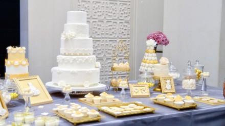 定制爱情婚礼翻糖蛋糕