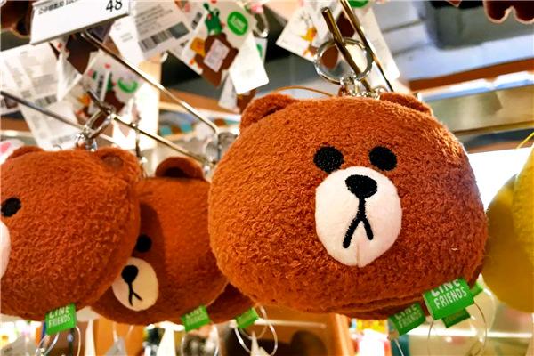 迷倒万千少女的爆红布朗熊