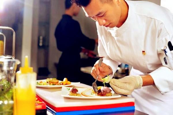 2016 上海日用品展厨王亲手打造的法国料理-鲜城2016 日内瓦表展