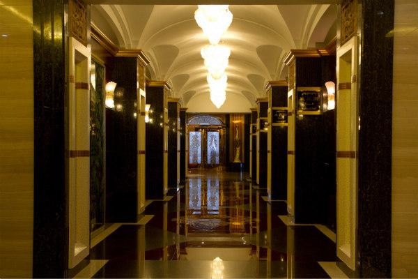 民国欧式酒店大堂