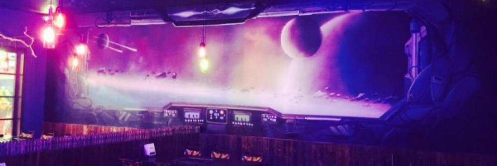 3D太空舱主题店