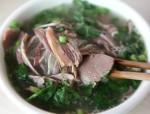 汤鲜味美的一碗杂肝汤